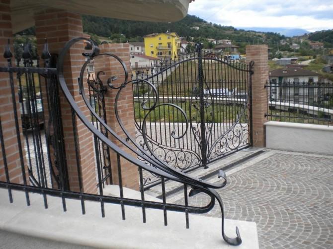 Eccezionale Cancello carraio tipo 7 – Orma Fabbro | cancelli finestre ferro  OV11