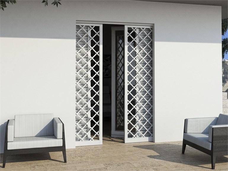 Finestra fissa tipo 3 orma fabbro cancelli finestre ferro battuto lavorazione del ferro - Ermetika porte blindate ...