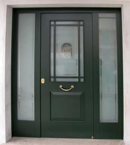 Porta blindata tipo trani orma fabbro cancelli - Porta finestra blindata ...